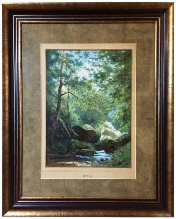Картин Süs,Wilhelmina (1861-1933)а - photo 1