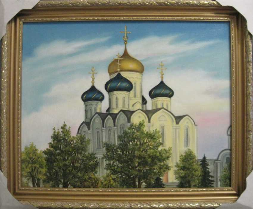 Yadviga Senko. Cathedral of the Dormition in Molodechno (oil on canvas,50x40,2019) - photo 1