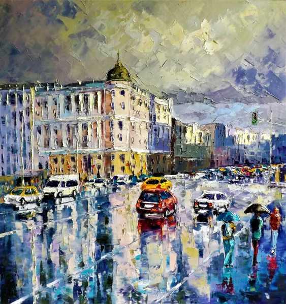 Sergey Efremov. Summer rain on Tverskaya - photo 1