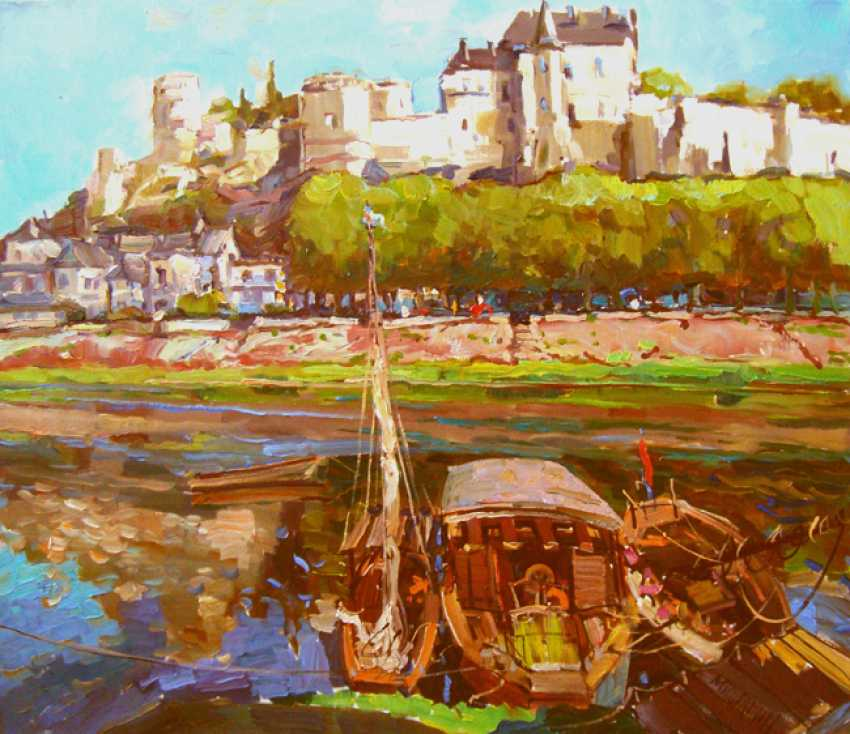 Andrey Mishagin. On the Loire river. France - photo 1
