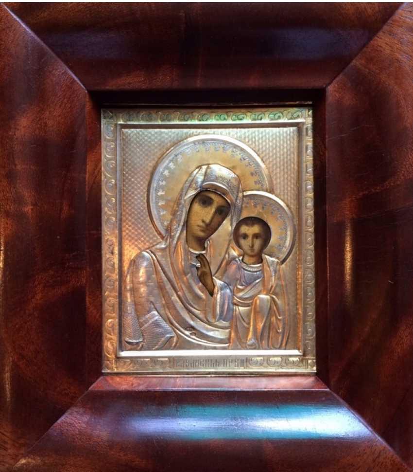 """Icon """"Kazan mother of God"""".84 - photo 1"""