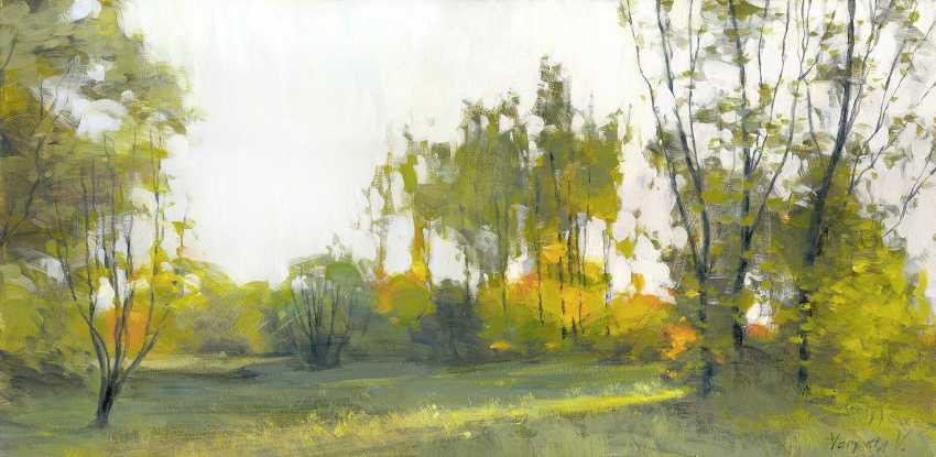 Vitaly Varyakin. Autumn morning - photo 1
