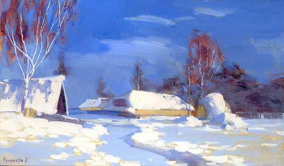 Vitaly Varyakin. Snow track - photo 1
