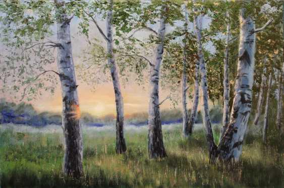 Tatiana Serhiyenko. Birches at dawn - photo 1
