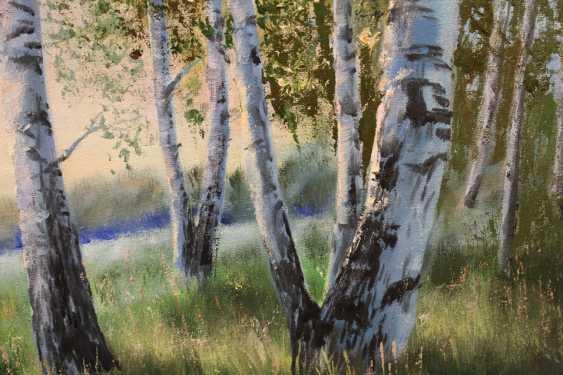 Tatiana Serhiyenko. Birches at dawn - photo 2