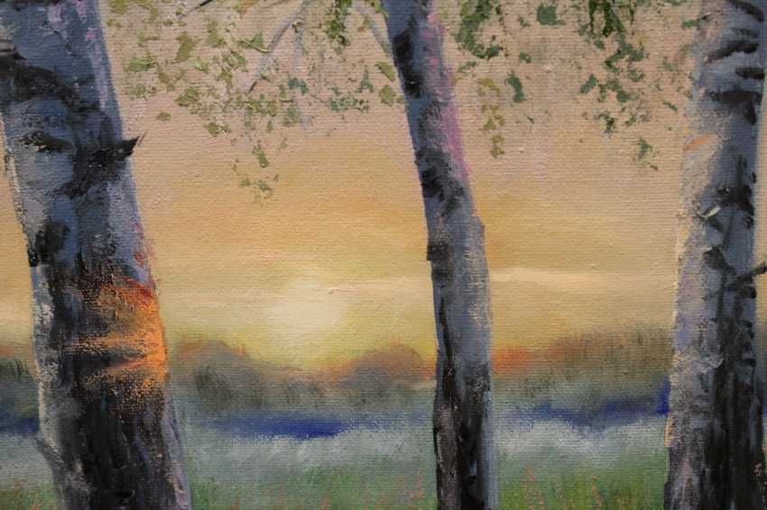 Tatiana Serhiyenko. Birches at dawn - photo 3