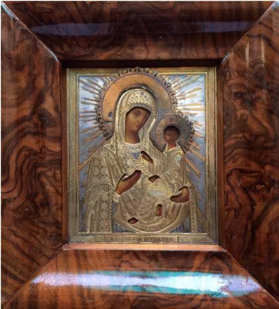 """Icon """"Tikhvinskaya Mother Of God"""". 84 - photo 1"""