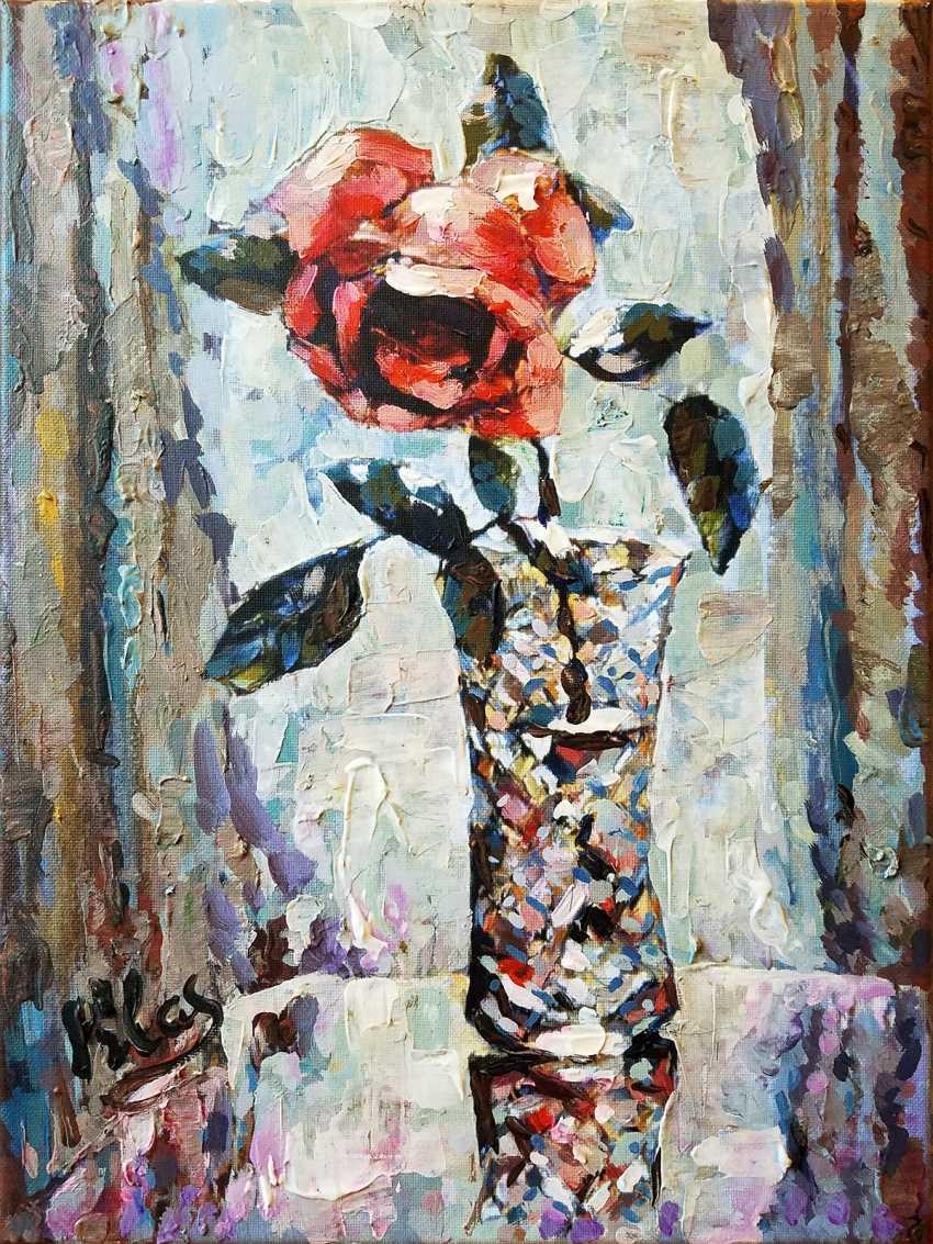 Alex Klas. Morning rose - photo 1