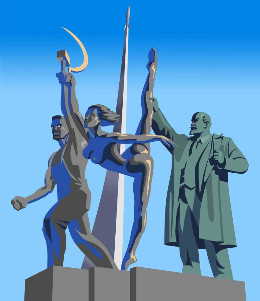Alexey Krylov. The leader of the world proletariat helps the farmers to be a ballerina - photo 1