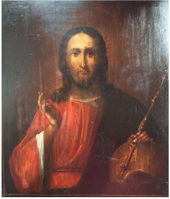 The icon of the Savior Russia, 19th in - photo 1