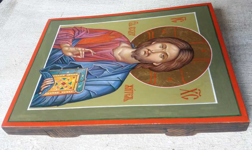 Slava Nikityuk. The Icon Of Jesus Pantocrator (Pantokrator). Savior. Jesus Christ. - photo 2