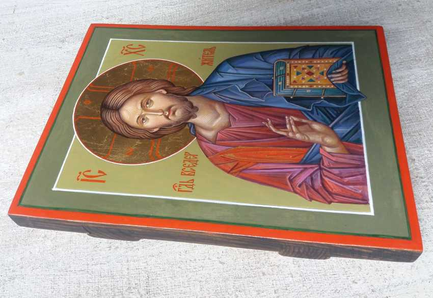 Slava Nikityuk. The Icon Of Jesus Pantocrator (Pantokrator). Savior. Jesus Christ. - photo 4