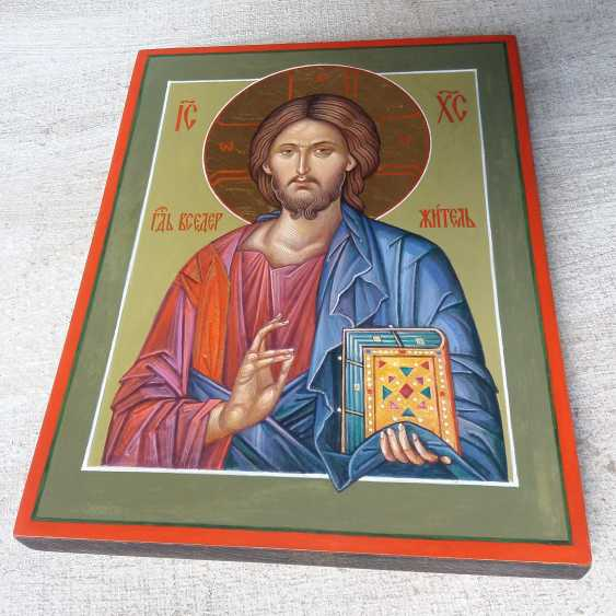 Slava Nikityuk. The Icon Of Jesus Pantocrator (Pantokrator). Savior. Jesus Christ. - photo 5