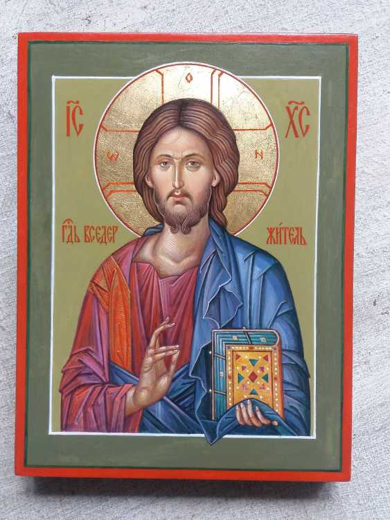 Slava Nikityuk. The Icon Of Jesus Pantocrator (Pantokrator). Savior. Jesus Christ. - photo 10