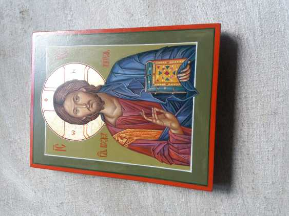 Slava Nikityuk. The Icon Of Jesus Pantocrator (Pantokrator). Savior. Jesus Christ. - photo 12