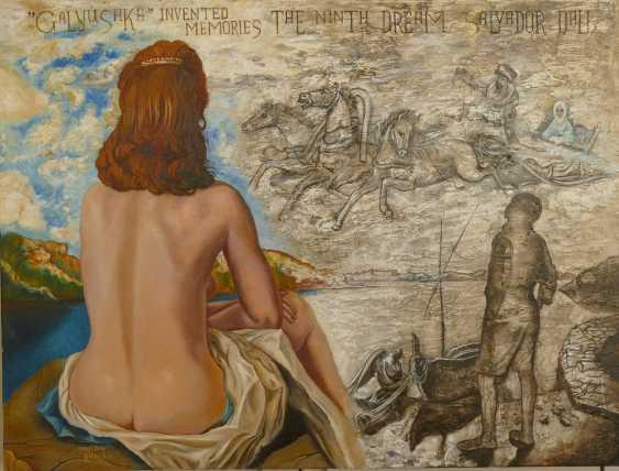 alexander kanchik. GALUSKA. INVENTED MEMORIES of the 9th sleep of Salvador Dali - photo 1