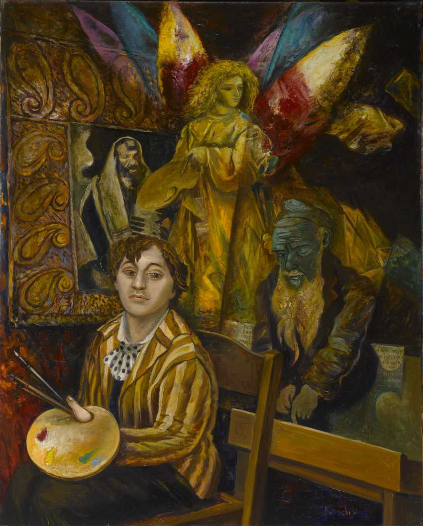alexander kanchik. CHAGALL AND THE ANGEL - photo 1
