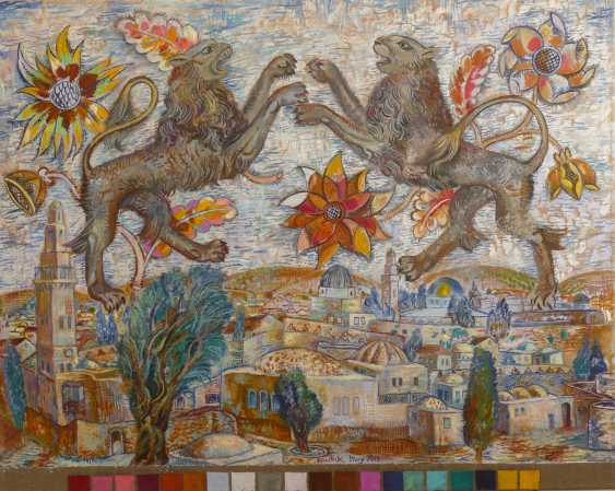 alexander kanchik. TAPESTRY. Grey lions - photo 1