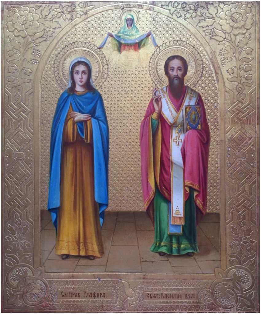 Icon. SV.proven.the maid of Glafira - photo 1