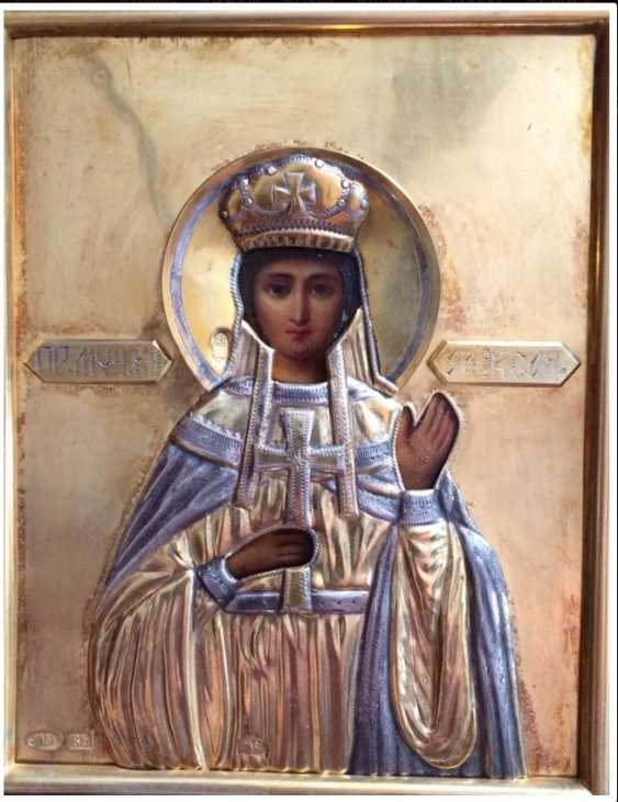 """The Icon Of """"SV. the Martyr Queen Alexandra"""" - photo 2"""