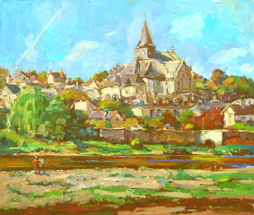 Andrey Mishagin. Noon. The town on the river - photo 1