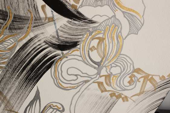 Vera DG. Floral Abstract calligraphy - photo 2