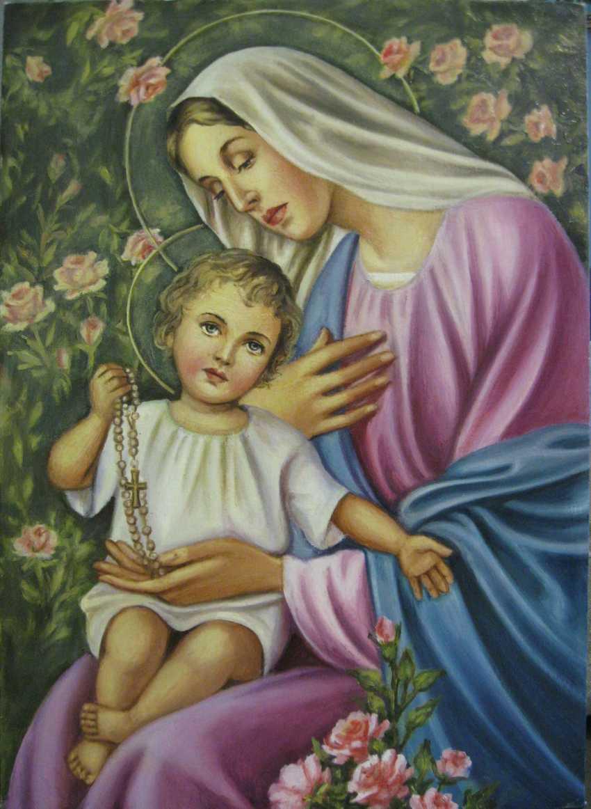 Yadviga Senko. The Virgin Mary Of The Holy Rosary (Rozentova) - photo 1