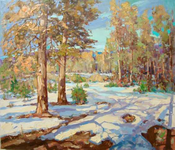 Andrey Mishagin. Warmer and brighter the sun became - photo 1