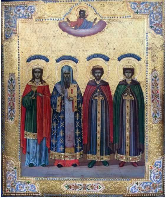 """Icon """"the Selected saints"""". - photo 2"""
