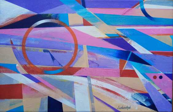 Neli Lukashyk. Lavender abstraction - photo 1