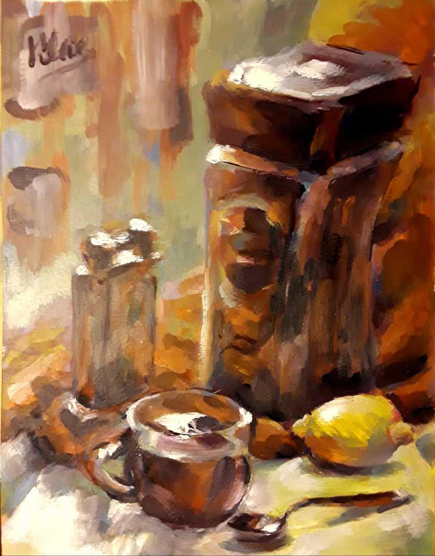 Alex Klas. Coffee and Dunhill - photo 1