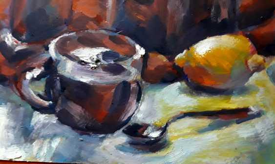 Alex Klas. Coffee and Dunhill - photo 2