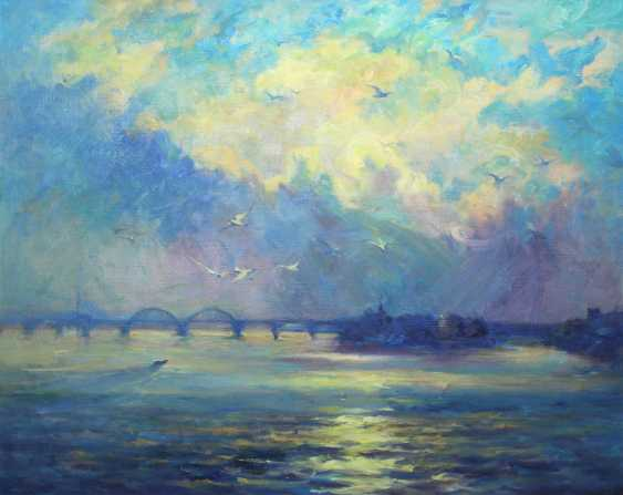 Alexander Kusenko. Dawn on the Dnieper - photo 1