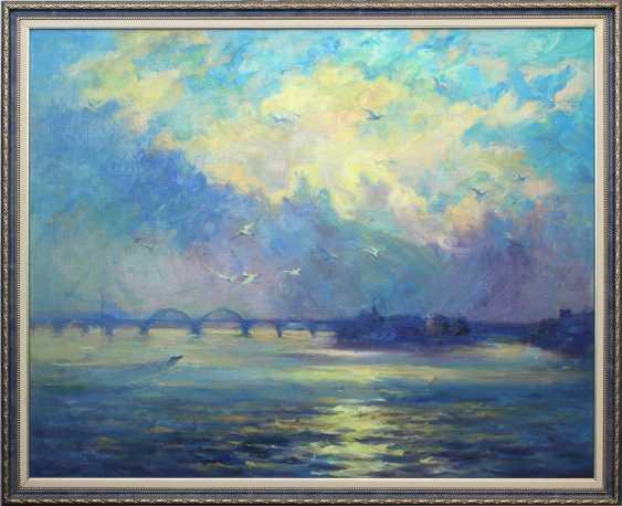 Alexander Kusenko. Dawn on the Dnieper - photo 2