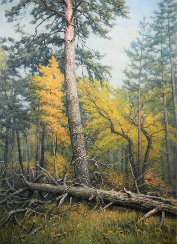 Alexander Kusenko. Mixed forest. Pine - photo 1