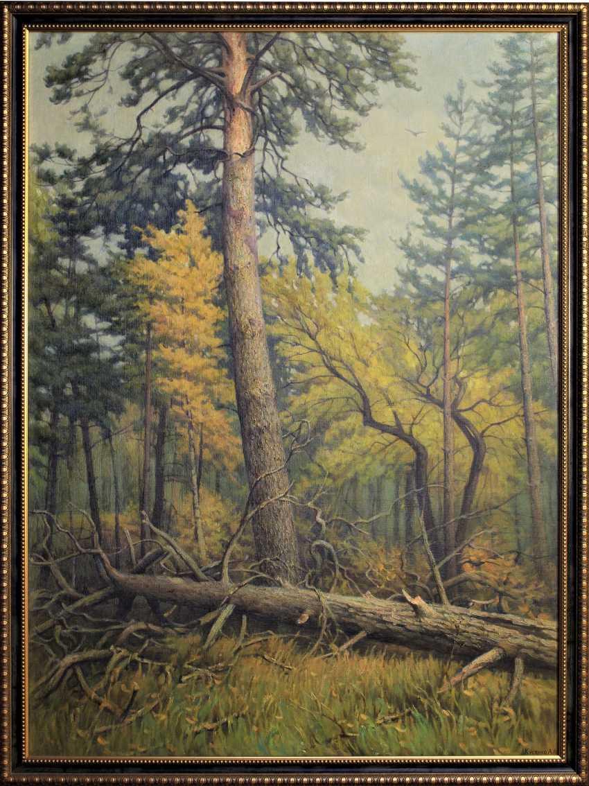 Alexander Kusenko. Mixed forest. Pine - photo 2