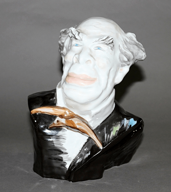 """Bust caricature """"Stanislavsky""""of the USSR, LFZ, the 1970-ies - photo 1"""