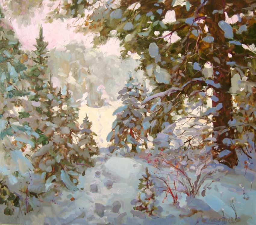 Andrey Mishagin. And winter, winter, winter... - photo 1