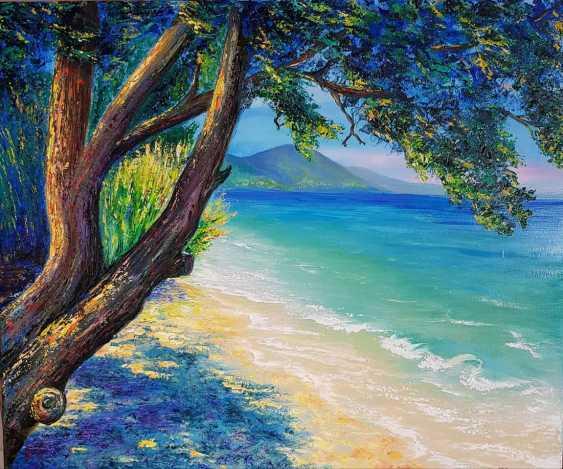 Viktoria Ganzia. On the shore of the Mediterranean sea. - photo 1