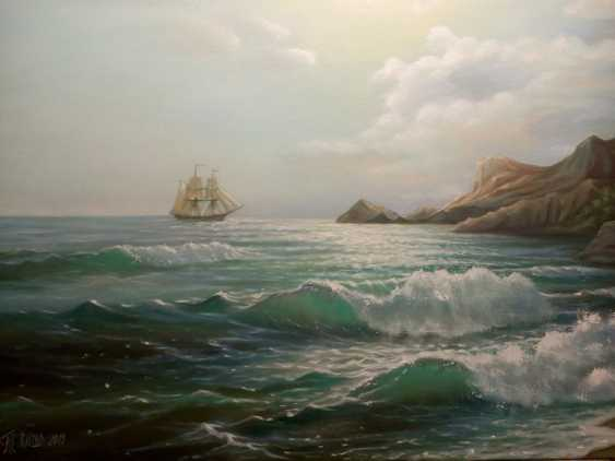 "Heorhii Kvitka. ""The sea before sunset"" - photo 1"