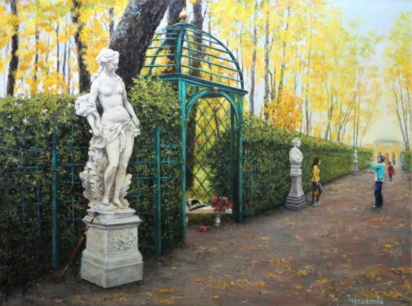 Tatyana Chepkasova. Summer garden - photo 1