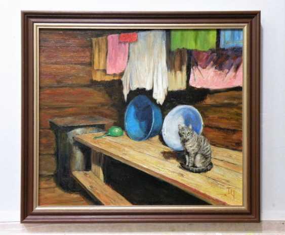 Татьяна Чепкасова. Банный кот. Серия «Деревенская мозаика» - фото 2