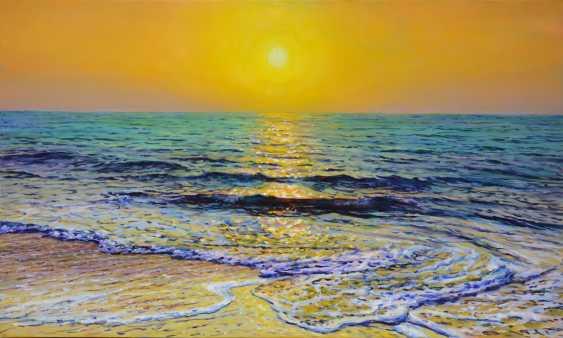 Iryna Kastsova. Sea. Sunset. - photo 1
