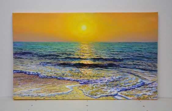 Iryna Kastsova. Sea. Sunset. - photo 2