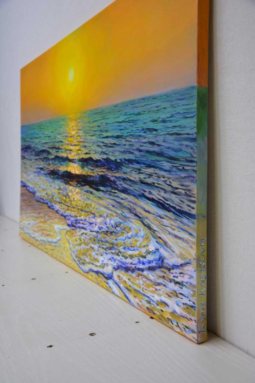 Iryna Kastsova. Sea. Sunset. - photo 3