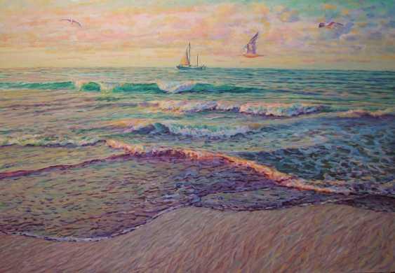Iryna Kastsova. The sea at dawn. - photo 1