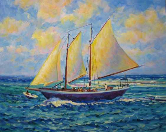 Iryna Kastsova. Boat trip - photo 1