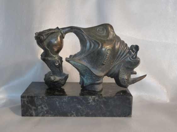 """Valeriy Leonov. """"The birth of the Rhino."""" - photo 2"""