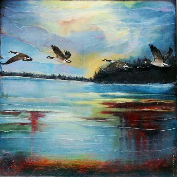 Nataliia Bahatska. And the Ducks are already Flying Far... - photo 1