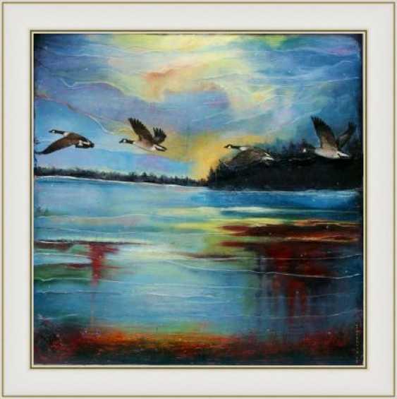 Nataliia Bahatska. And the Ducks are already Flying Far... - photo 5